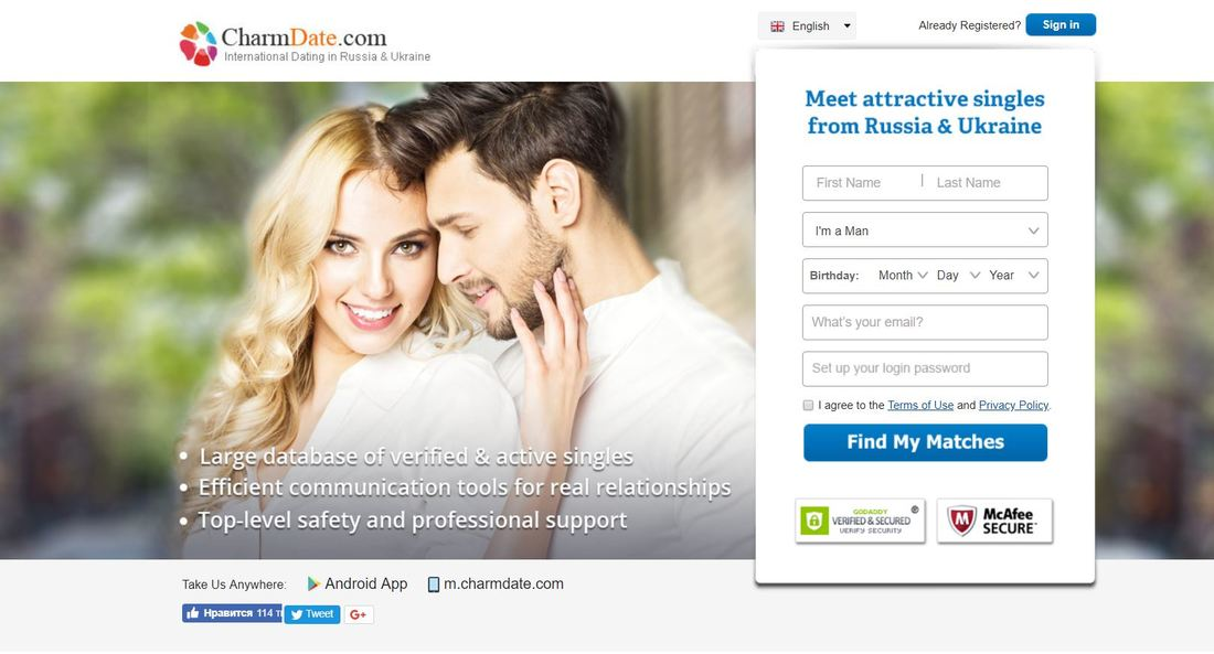 International dating sites for men